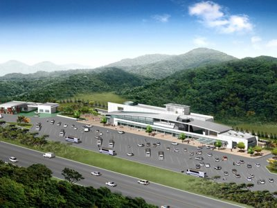 Construction and Operation of Commercial Areas, lay overs and parking lots along Bataan Expressway